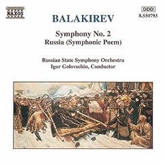 Balakirev:Sym.No.2/Russia