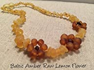 Raw Unpolished 13 Inch Baltic Amber Teething Necklace Babies Yellow Lemon – Baby, Infant, and…