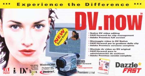 Dazzle DV now AV - Video input adapter - PCI - NTSC PALB00006HOZC