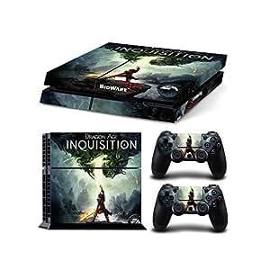 Sony playstation 4 console skin decal sticker set dragon age inquisition 1 - Console dragon age inquisition ...