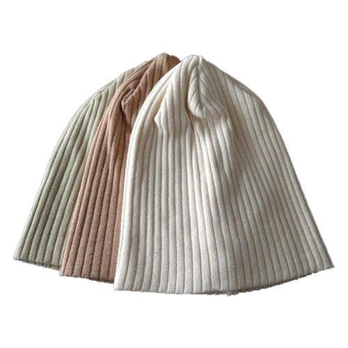 (エッジシティー)EdgeCity[000332] 日本製 プレミアムオーガニックコットンリブニットキャップ ニット帽 医療用帽子