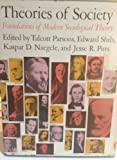 img - for Theories of Society Foundations of Modern Sociological Theory (Two Volumes in Slipcase) book / textbook / text book
