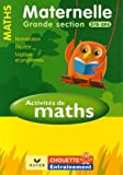 img - for Chouette Maths Grande Section (5/6) (French Edition) book / textbook / text book