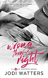 Wrong Then Right by Jodi Watters ebook deal