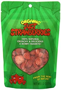 Just Tomatoes Organic Just Strawberries, 1.2 Ounce  Pouch