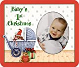 Baby's First Christmas... - Photo Magnet Frame
