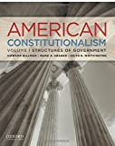 img - for American Constitutionalism: Volume I: Structures of Government by Howard Gillman (2012-03-09) book / textbook / text book