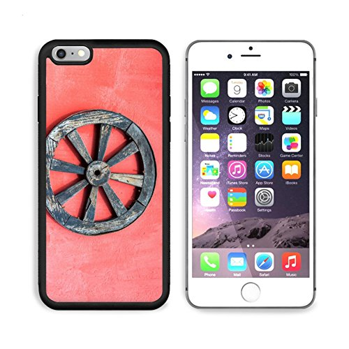 MSD Premium Apple iPhone 6 Plus iPhone 6S Plus Aluminum Backplate Bumper Snap Case IMAGE ID 35946043 Old wagon wheel and a red wall near Cotopaxi Volcano in Ecuador (Red Wagon Tutorials compare prices)