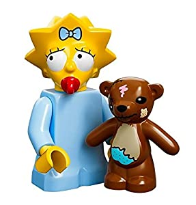 The Simpsons Lego Mini Figure Maggie