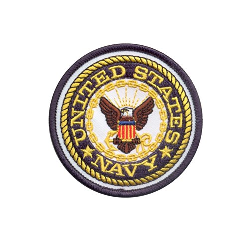"United States Navy USN 3"" Round Patch Logo Insignia Patch"