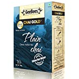 GeeBees Chai Gold Instant Premix Plain Tea Sweetened, 140g