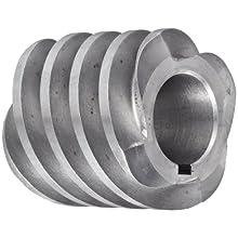 "Boston Gear D1607KRH Worm Gear, 14.5 Degree Pressure Angle, 0.625"" Bore, 12 Pitch, 1. PD, RH"