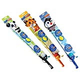 South Bend Zoo Kids Panda Tiger and Penguin Fish Rods (6-Pack), Assorted