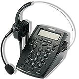 AGPtek® コールセンター用ヘッドセット(電話付き)大買い得!!