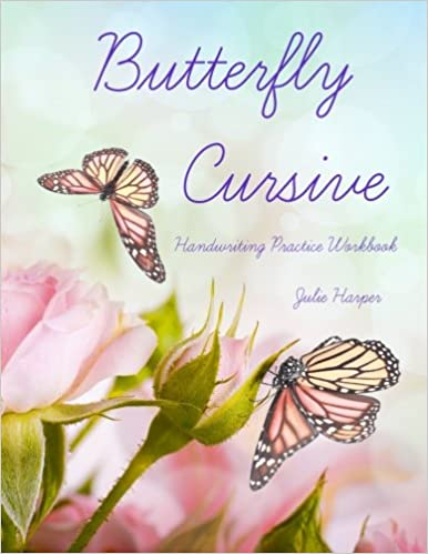 Buy Butterfly Cursive Handwriting Practice Workbook Book Online at ...