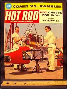 1960 60 JUN June HOT ROD Magazine, Volume 13 Number # 6: Trend Inc