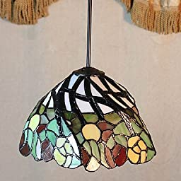 CHXDD 25W Pendant Light / Vintage Painting Feature for Mini Style Metal Bedroom / Entry , 110-120v