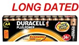 24x DURACELL Plus Power MN1500 AA Batteries Long-Dated (Total Qty=24)