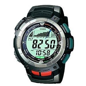 (暴跌)卡西欧 Casio Men's PAW1100-1V 男士多功能户外太阳能登山表 $186