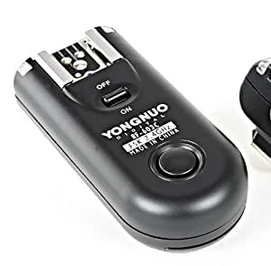 Yongnuo RF-603 Nikon Zusatz Transceiver für Funk-Fernauslöser zur Kamera- & Blitzauslösung für Nikon (Einzelpackung)