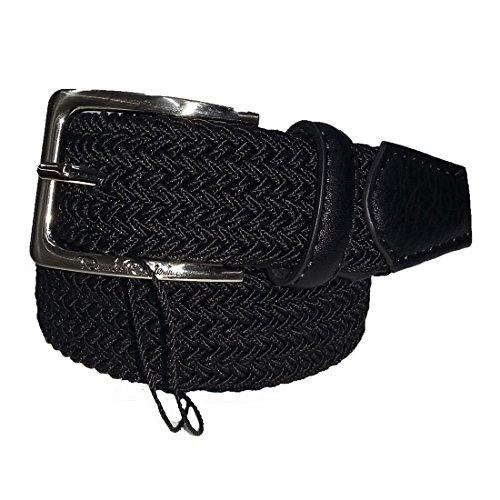 Cintura uomo Renato Balestra intrecciata elasticizzata Nero cod: CN0E390