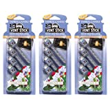 Yankee Candle Garden Sweet Pea Car Vent Sticks 3 PACKS OF (4 VENT STICKS) - BUY 2 GET 1 HALF PRICE