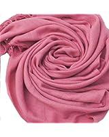 iLoveSIA Femme Pashmina echarpe a franges longue 40 couleurs aux choix