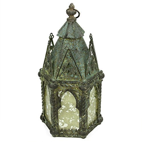 1725-antique-weathered-verdigris-style-church-hanging-taper-candle-lantern-by-allstate