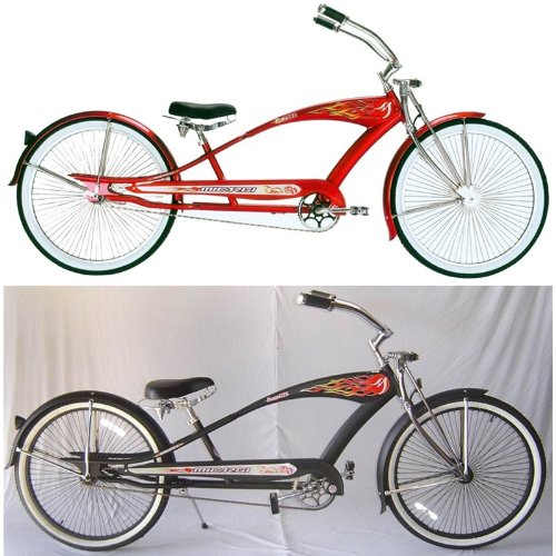 Puma GTS Stretched Beach Cruiser Bike