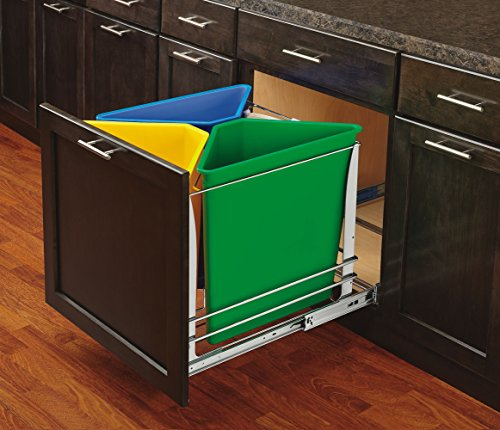 Rev-A-Shelf - 5BBSC-WMDM24-C - Recycling Center (multi-color)