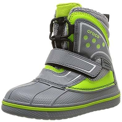 Amazon.com: crocs Kids' AllCast Waterproof Snow Boot GS: Shoes