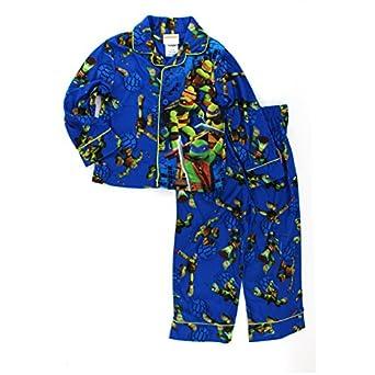 Amazon.com: TMNT Ninja Turtles Boys Flannel Pajamas: Clothing