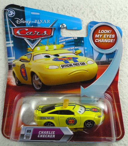 Disney / Pixar CARS Movie 155 Die Cast Car with Lenticular Eyes Series 2 Charlie Checker by Unknown - 1