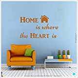 DeStudio The Heart Is Wall Decal, Size LARGE, Color BLACK