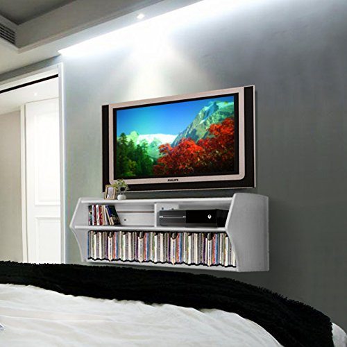 Erfect Wall Mount 48 Quot Tv Stand Floating Media Console