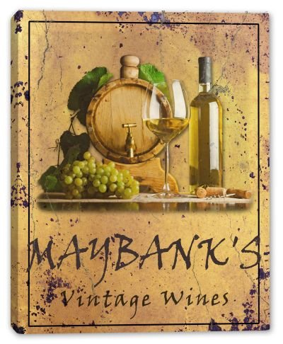 maybanks-family-name-vintage-wines-canvas-print-16-x-20