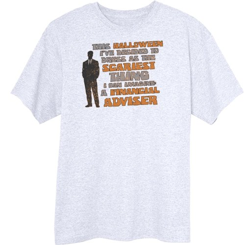 Scariest Halloween Costume Funny Novelty T-Shirt