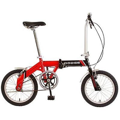 Amazon.com : Dodge 16-Inch Folding Bike : Folding Bicycles : Sports