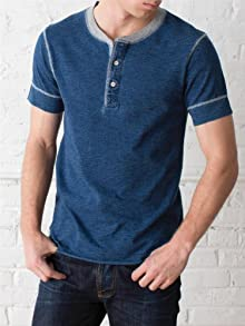 Nero Henley Tee