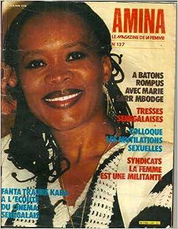 Amina le magazine de la femme senegalaise n 137 marie for Eminza magasin