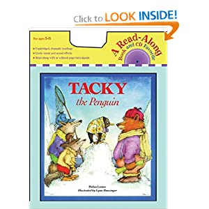 Tacky the Penguin (Book and CD) (Read Along Book & CD)
