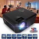 FidgetFidget Home Cinema Projector 4000Lumens LED 3D Wifi Smart HD 1080P Video TV Android New