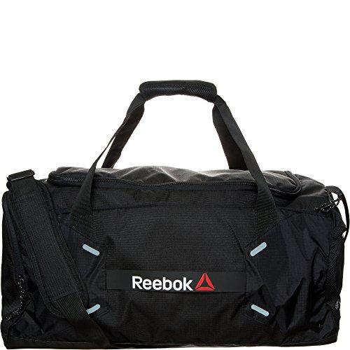 Reebok borsa sportiva One Series Medium 48L Grip, Unisex, One Series Medium 48L Grip, nero, Taglia unica