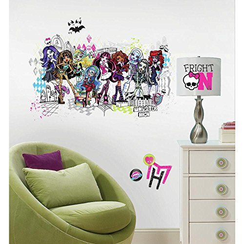 Monster High Group Giant Decal : Set front-351048