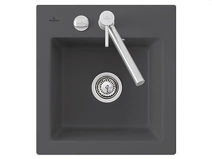 Villeroy und Boch Subway 45 XS gris cerámica-fregadero lavabo fregadero cocina