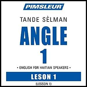 ESL Haitian Phase 1, Unit 01 Audiobook