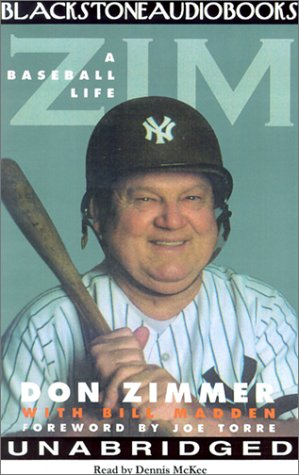 Zim: A Baseball Life (Library Edition) book cover