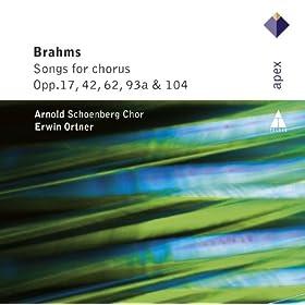 4 Choruses Op.17 : II Lied