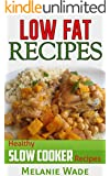 Low Fat Recipes: Healthy Slow Cooker Recipes (Healthy Delights Book 1) (English Edition)