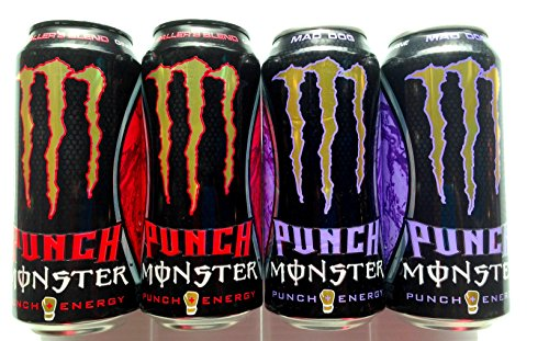Monster Energy Drink Mad Dog And Baller'S Blend Variety - 8 Pack
